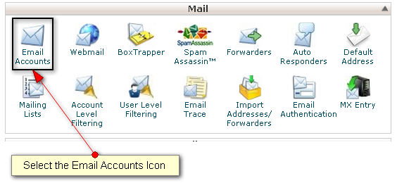 Captre #3 Email accounts icon